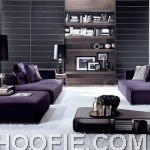 modern purple sofas Interior Design