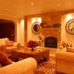 Warm atmosphere in basement