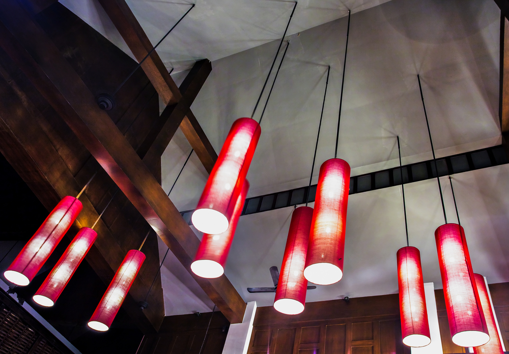 Cool red lighting fixtures