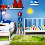 Cozy boys bedroom design