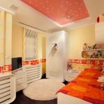 Cute orange kids room ideas