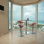 Dining room with amazing view