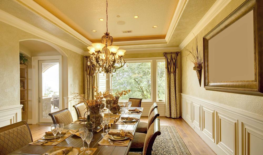 Interior lighting chandelier