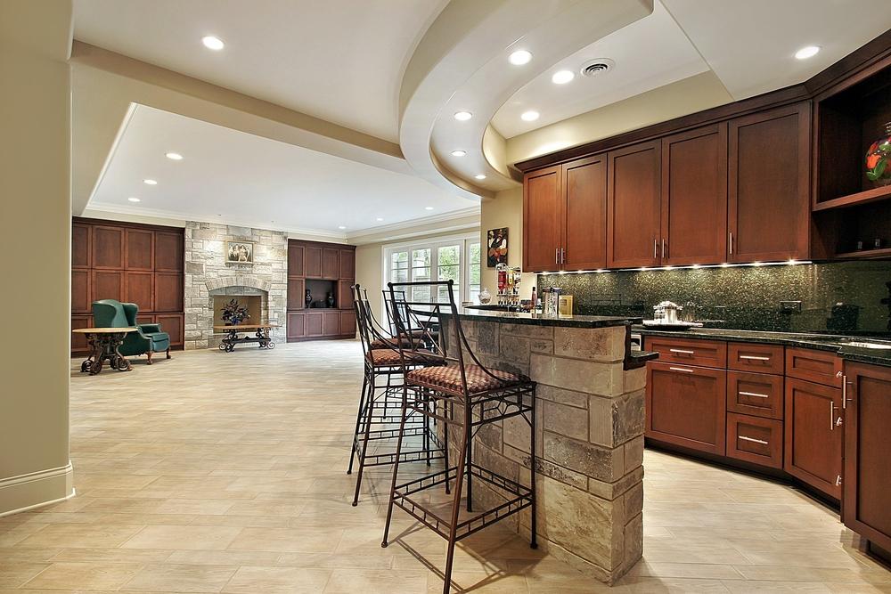 Modern open basement ideas interior design ideas for Contemporary basement designs