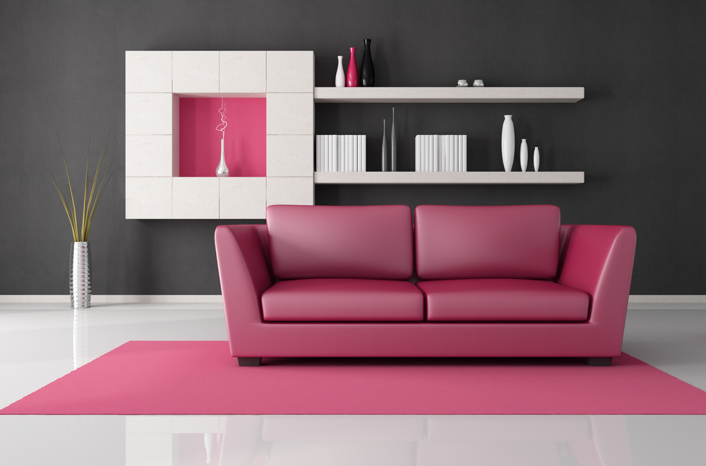 Pink couch ideas