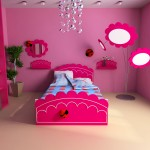 Pink girls room ideas