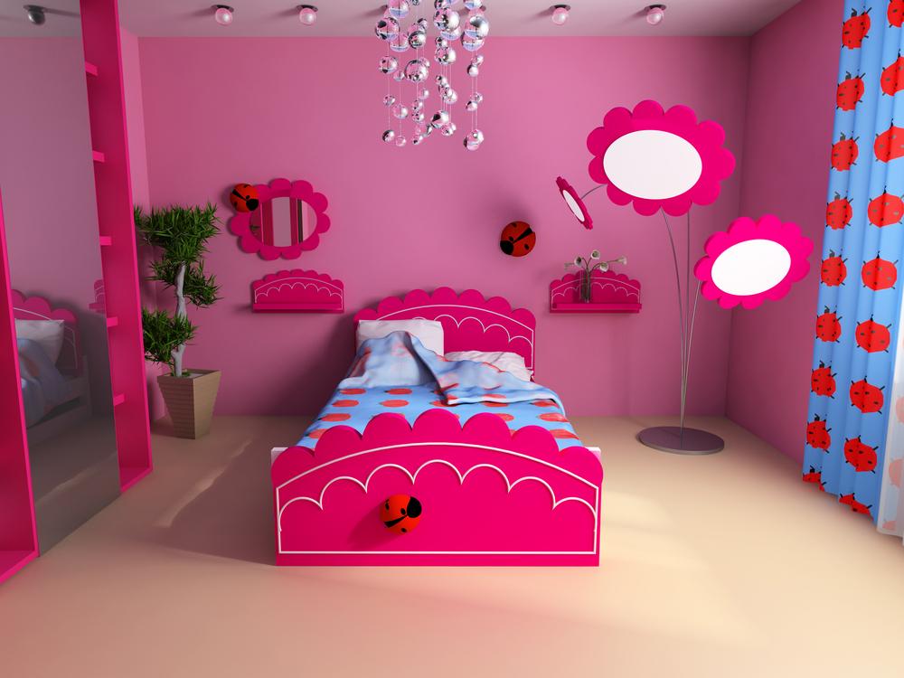 Pink girls room ideas