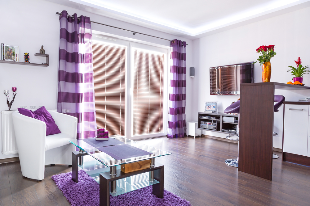 Purple Home Decor Ideas - Home Designs