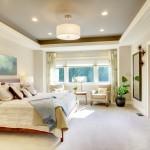 Spacious master bedroom design