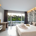 Stylish tree design bedroom