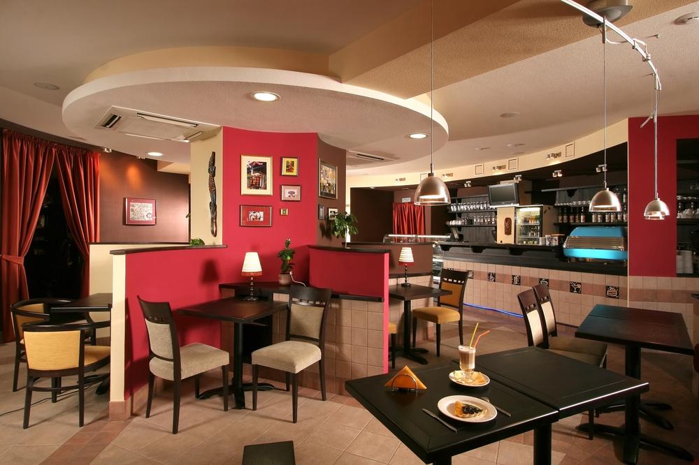 Red modern interior design ideas