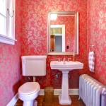 Small pink bathroom ideas