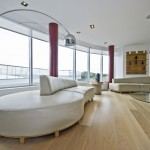 Wood floor in living room
