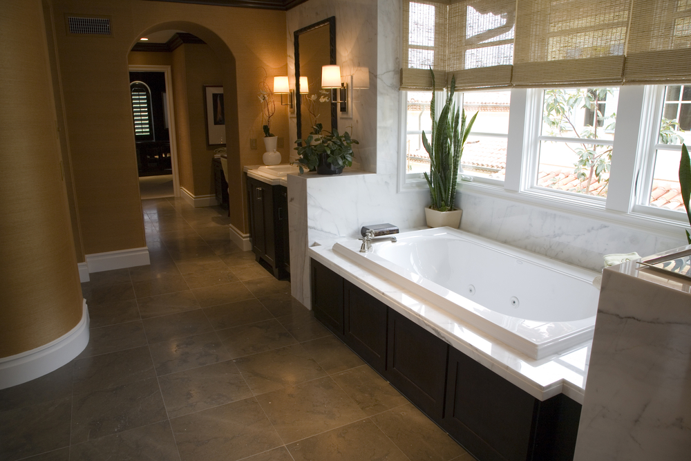 California dream home bathroom