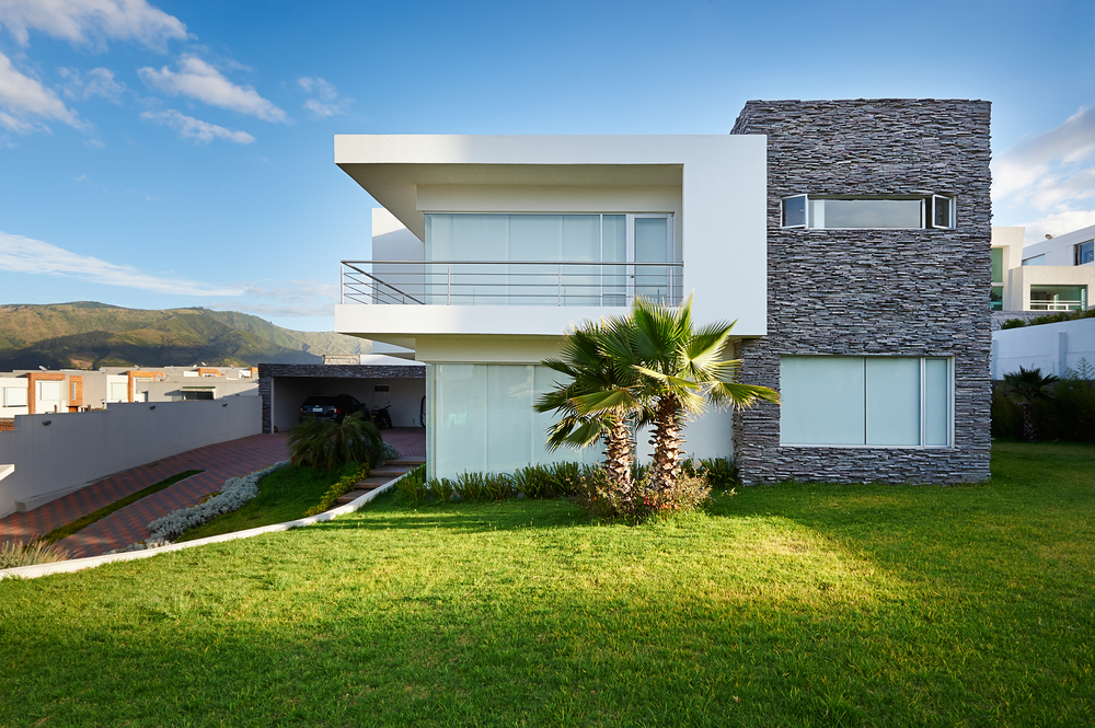 Great grass modern house