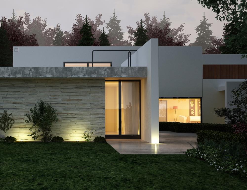 Modern house lighting