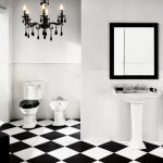 Trending Ideas for Black and White Bathroom Tiles