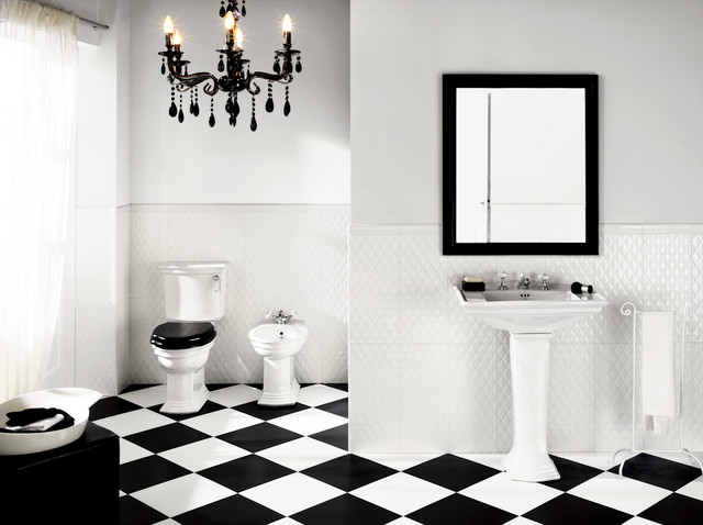 classic black and white bathroom trending ideas for black and white bathroom tiles 22928
