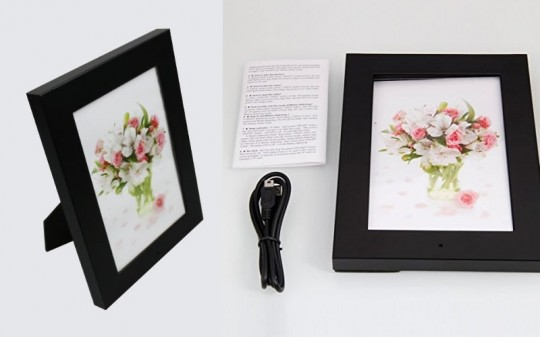 Hidden spy camera in picture frame