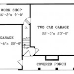 Small house plan - lower level