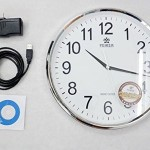 Excellent for any part of your home, this wall clock will tell you more than just time.
