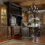 Rustic luxury kitchen