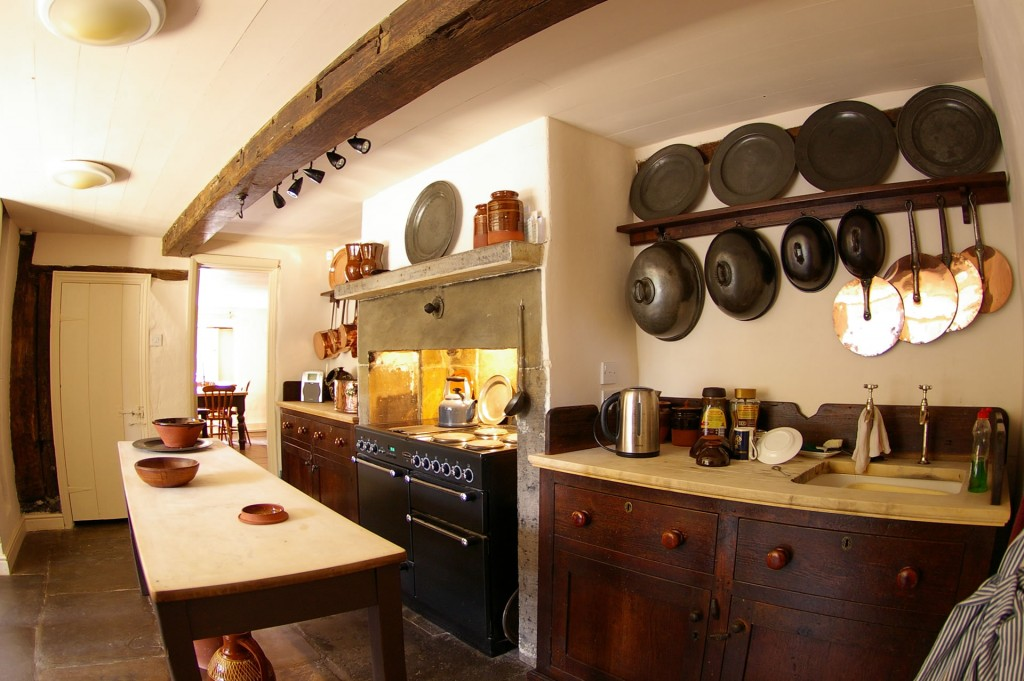 Stylish rustic kitchen