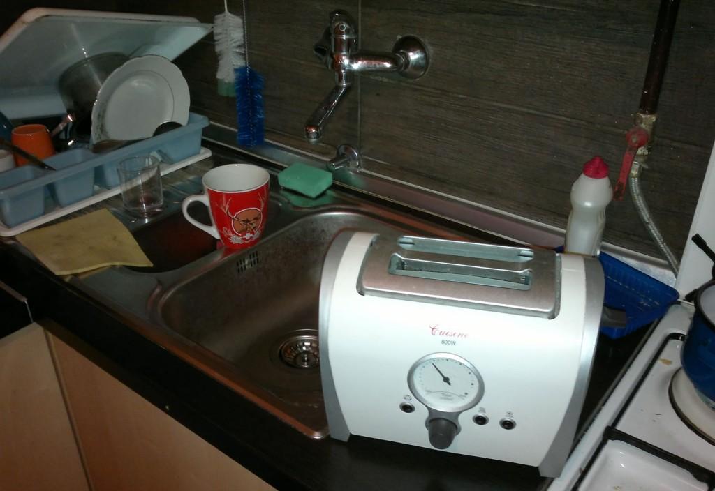 Vintage style toaster